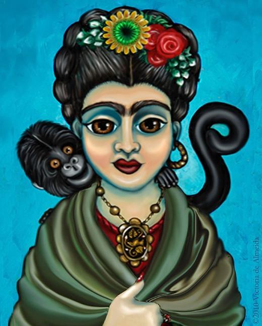 Frida's Monkey