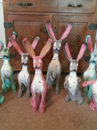 New Mexico Bunnies by Pete Ortega