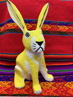 Joe Ortega Bunny Yellow - $75