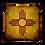Thumbnail: New Mexico Zia-Premium Pillow by Robert Arrington