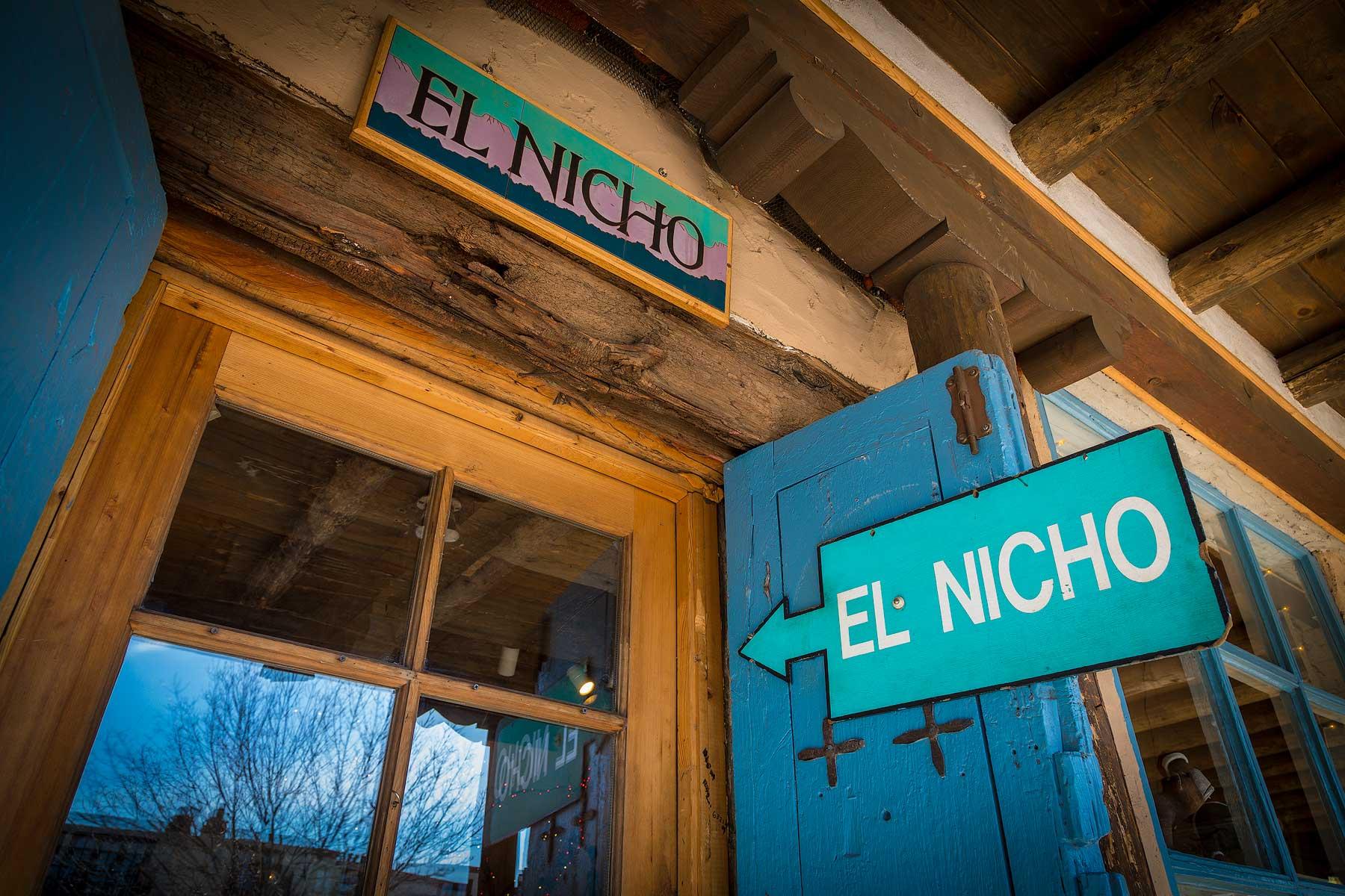 El Nicho Santa Fe | Front Entrance