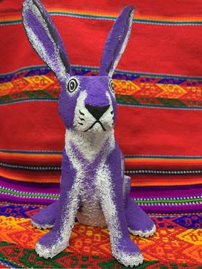Joe Ortega Bunny Purple - $75