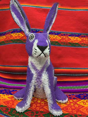 Joe Ortega Bunny Purple - $75