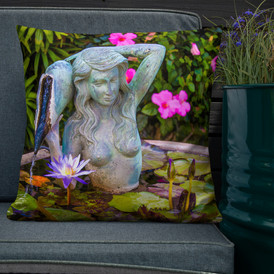 Kauai Mermaid & Lotus-Hawaii Throw
