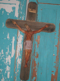 Christ Crucified by Pete Ortega