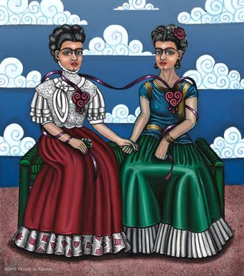 Frida Kahlo-Frida Beside Myself