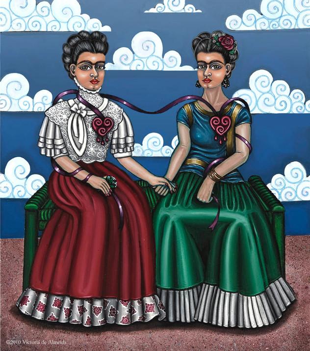 Frida Beside Myself