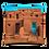 Thumbnail: Taos Pueblo New Mexico Throw Pillow by Robert Arrington