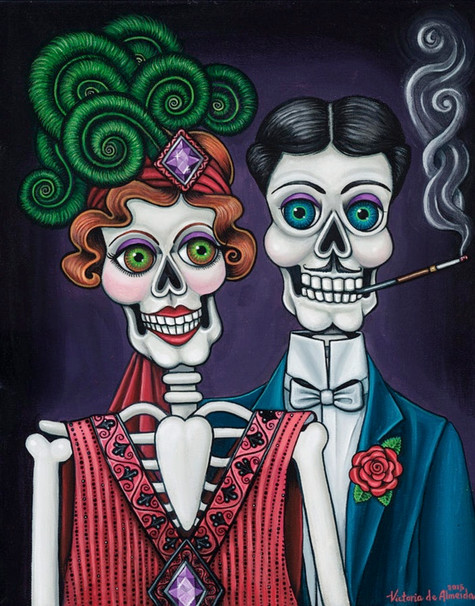 Putting On The Ritz (Day of the Dead)