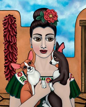 Frida Kahlo-Mis Cariños