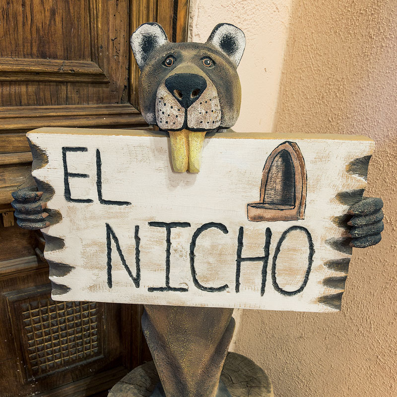 El Nicho Santa Fe Front Door