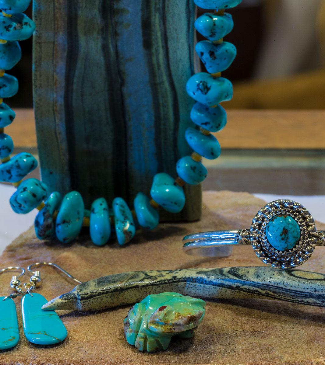 El Nicho Santa Fe | Turquoise