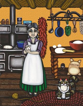Abuelita or Grandma
