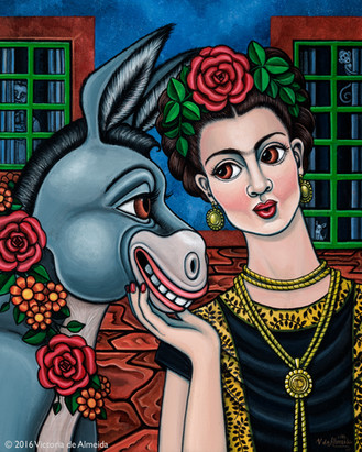 Frida Kahlo-Besos