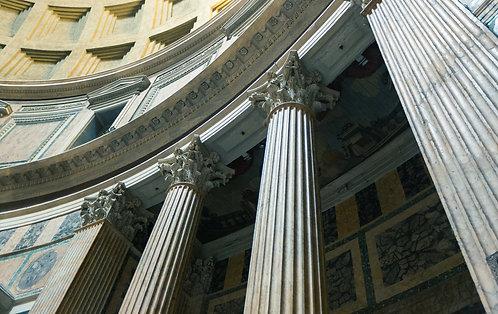 Pantheon II, Rome | Vivid Metal Print