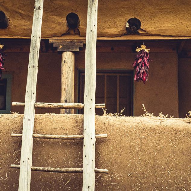 Pueblo Ladder & Ristra | New Mexico