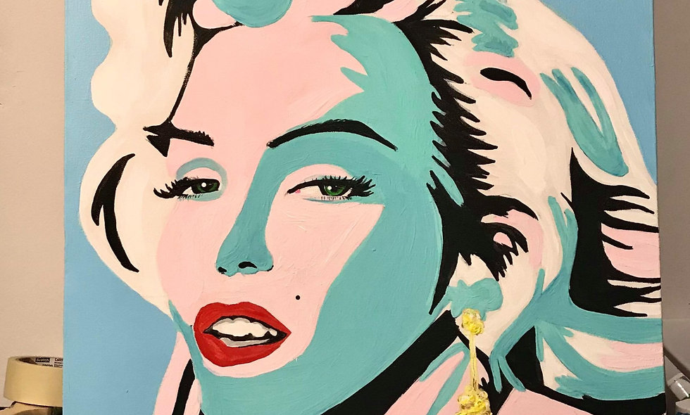 Marilyn Monroe Original- 18x24