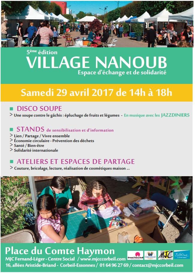 village NANOUB à Corbeil Essonnes