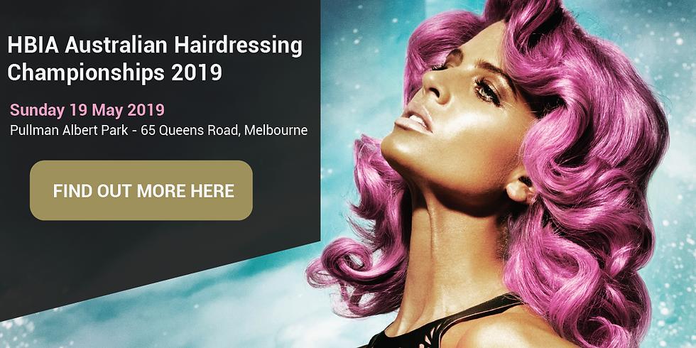 HBIA Australian Hairdressing & Beauty Championships 2019