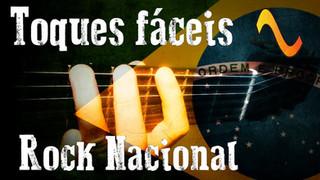 Toques fáceis - Rock Nacional