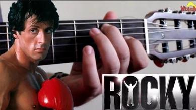 ROCKY BALBOA -  Música do filme - Aula de Violão