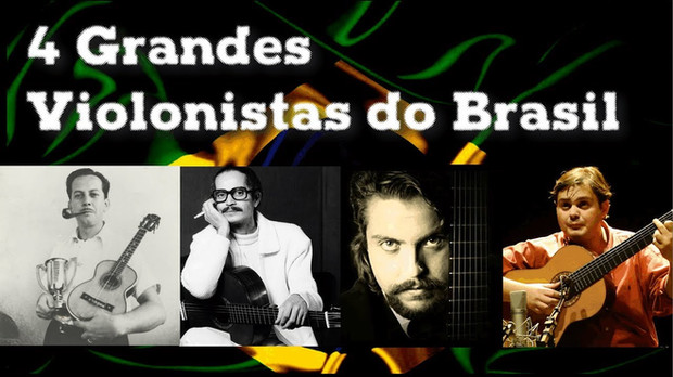 4 Grandes violonistas do Brasil