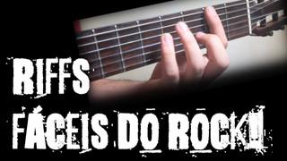 Riffs e toques fáceis do ROCK