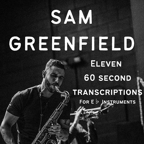 Eleven 60 Second Transcriptions - Eb