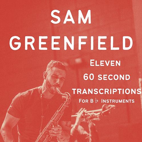 Eleven 60 Second Transcriptions - Bb