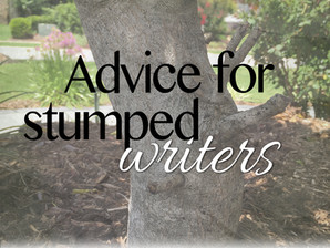 Behind the scenes: for the stumped writer