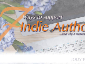 7 simple ways I support indie authors ...And why it matters!