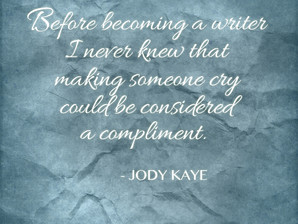 Before becoming a writer...