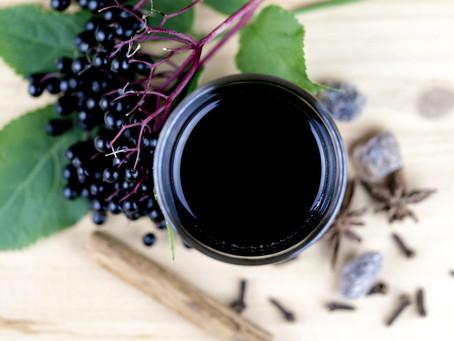Elderberry Tincture Recipe