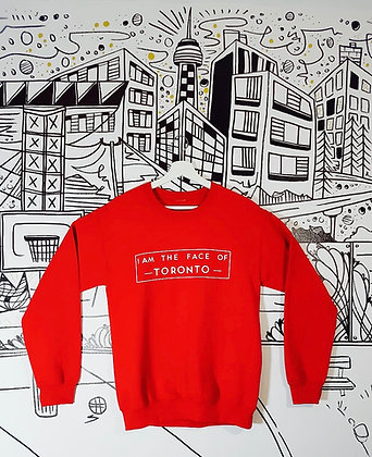 Face of T.O Sweater