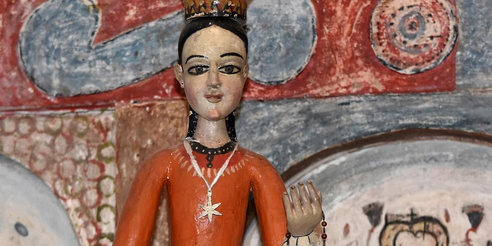 PRIVATE VAULT TOUR / MUSEUM OF SPANISH COLONIAL ART / SANTA FE