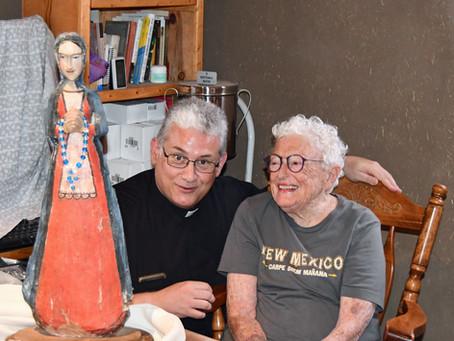 BULTO DONATION TO THE SANTUARIO DE CHIMAYO