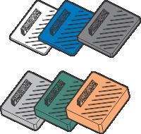 concrete panel plastic packers