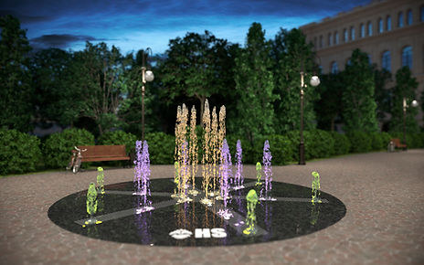 пешеходный фонтан, проектирование пешеходного фонтана, оборудование для пешеходного фонтана купить, строительство пешеходного фонтана, строительство фонтана, проектирование фонтана