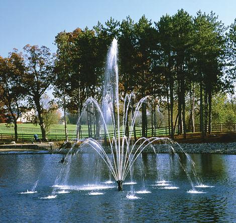 плавающий фонтан  Trillium (Вулкан), плавающий фонтан купить