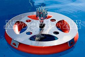 Плавающий фонтан, плавающие фонтаны, фонтанный комплект, OASE, AUGA, Fontana