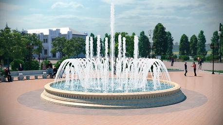 городской фонтан, классический фонтан, строительство фонтана, проекирование фонтана