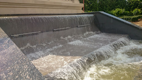водопад, строительство водопадов, проекирование водопадов