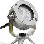 подводное светодиодное освещение, установка светильников на фонтане, правила установки светильников на фонтане