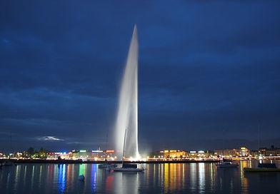 высокоструйный фонтан