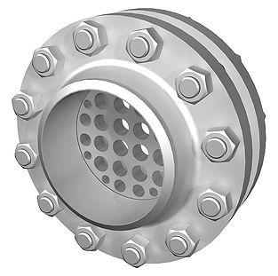 выпрямитель потока дисковый