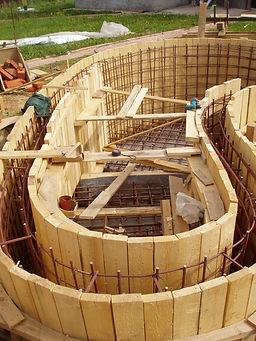 опалубочные работы, Водоем на даче, строим водоем на даче своими руками