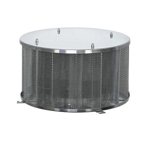 Защитная сетка на забор воды 6100л/мин (d600; h500)