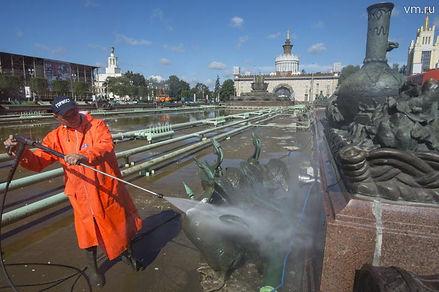 ремонт фонтанов, обслуживание фонтана