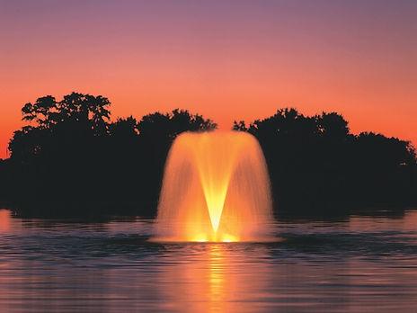 плавающий фонтан Crown Gusher от Aqua Control, плавающий фонтан купить
