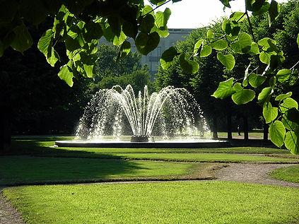 парковый фонтан